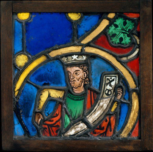 Prophet King from a Tree of Jesse Window