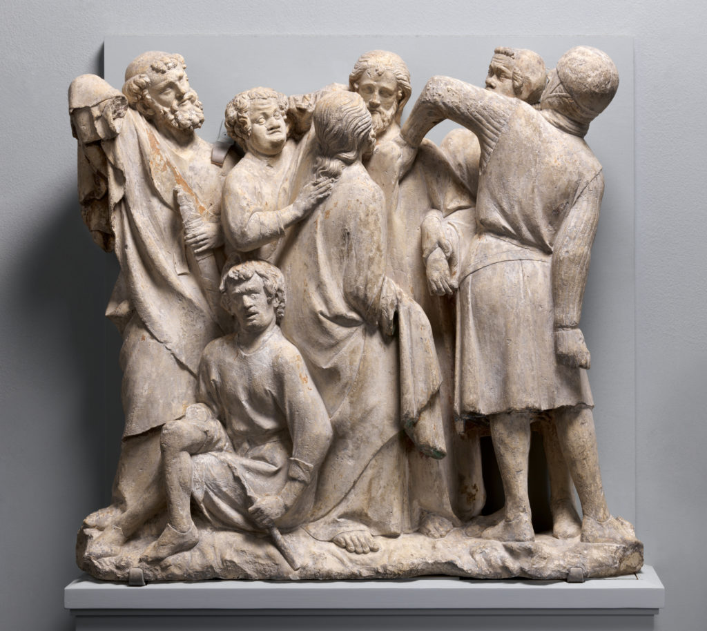 Relief of the Betrayal and Arrest of Jesus