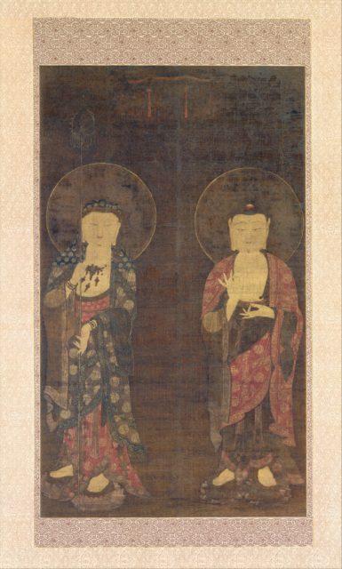 Amitabha and Kshitigarba