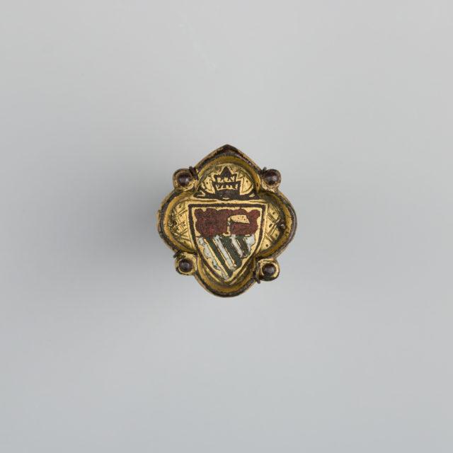 Badge Bearing the Arms of Baldassare Cossa (1370–1419), Antipope John XXIII (1410–1415)