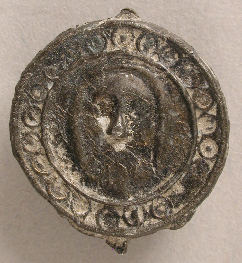 Badge with Head of Christ