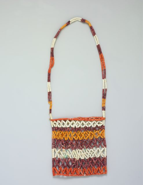 Bag with Shell Beads