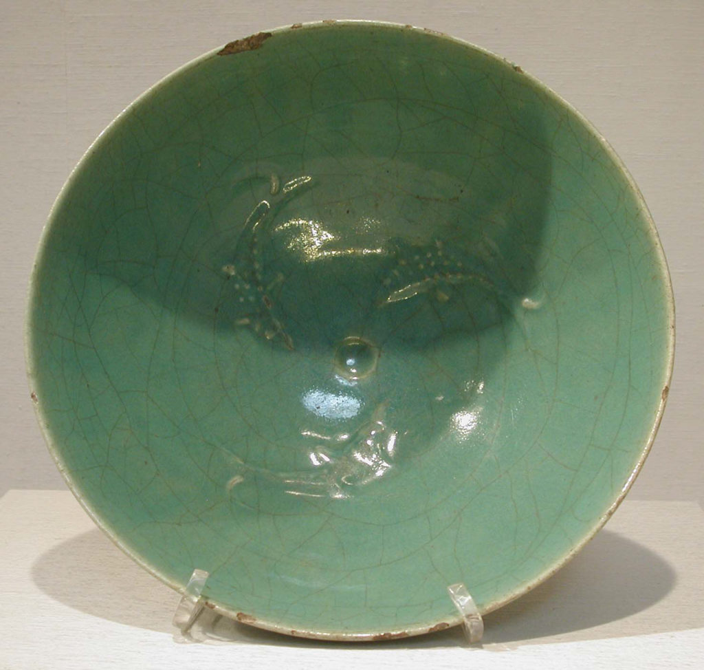 Bowl with Fish Motifs