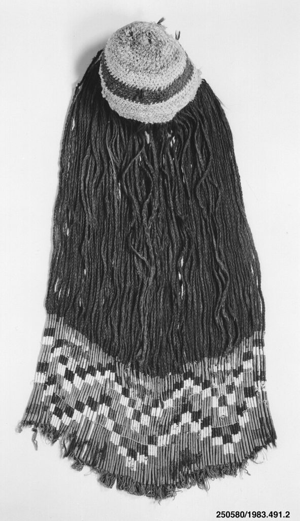 Cap Woven with Human Hair