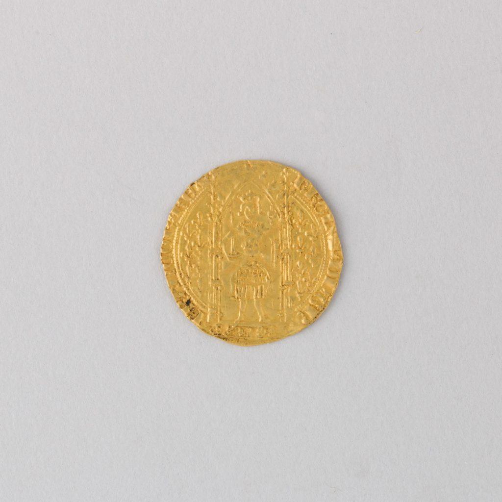 Coin (Franc) Showing Charles V