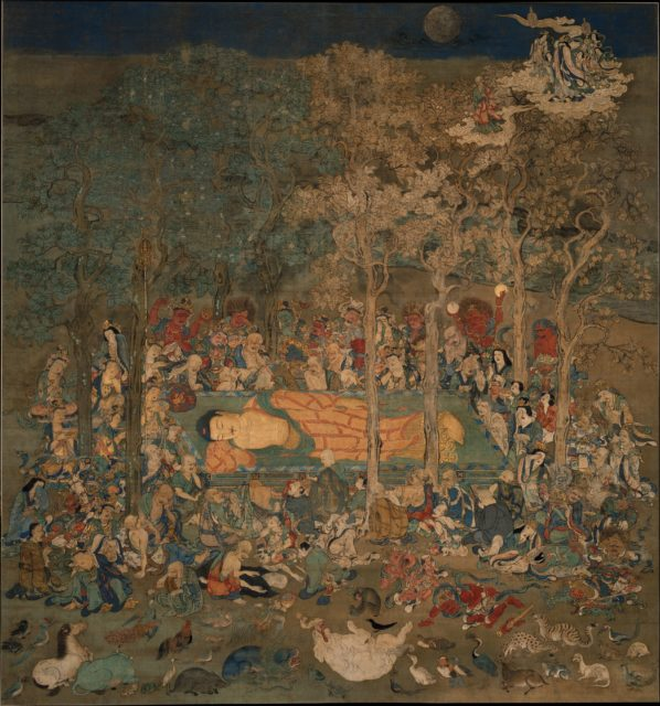 Death of the Historical Buddha (Nehan-zu)