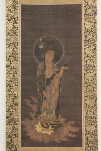 Jizō Bosatsu in Welcoming Descent (Jizō bosatsu raigō)