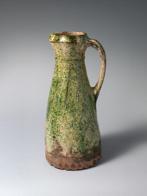 Jug with sgrafitto decoration