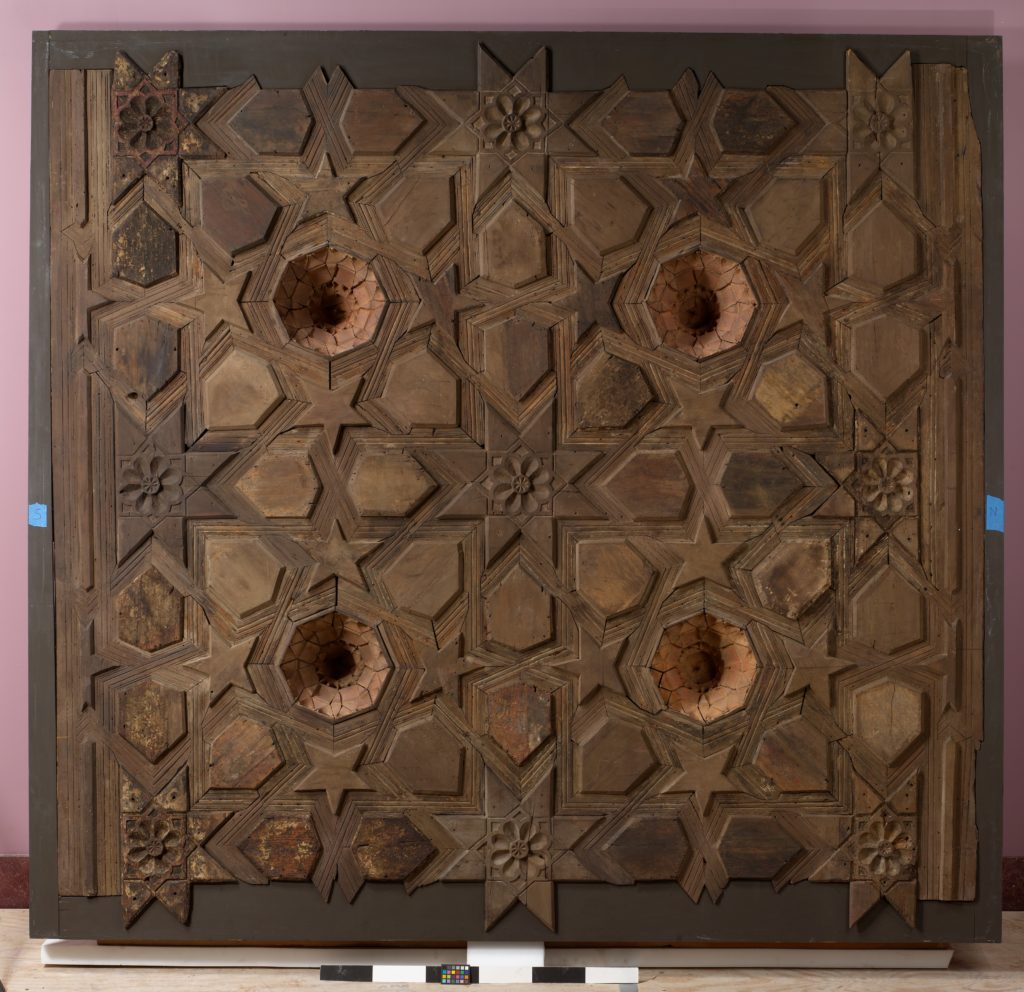 Panel from a Ceiling