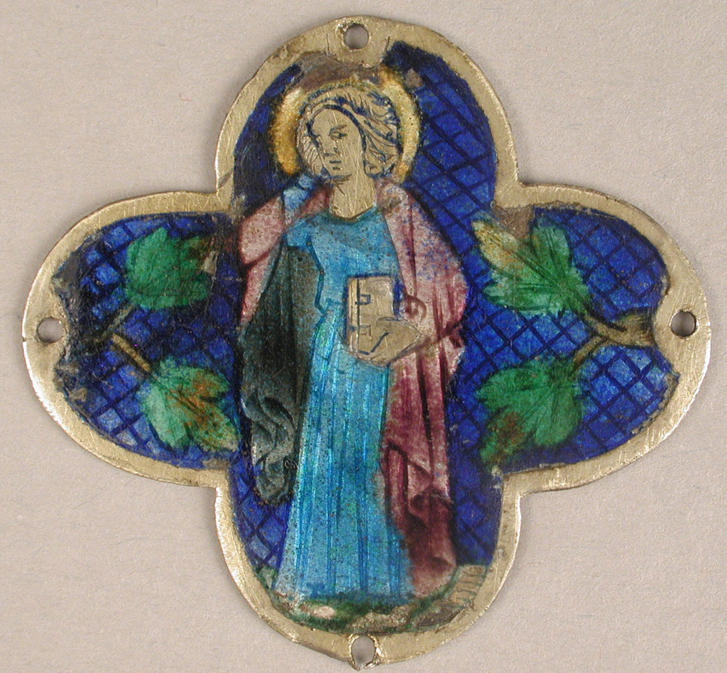 Plaque with St. John in Mourning