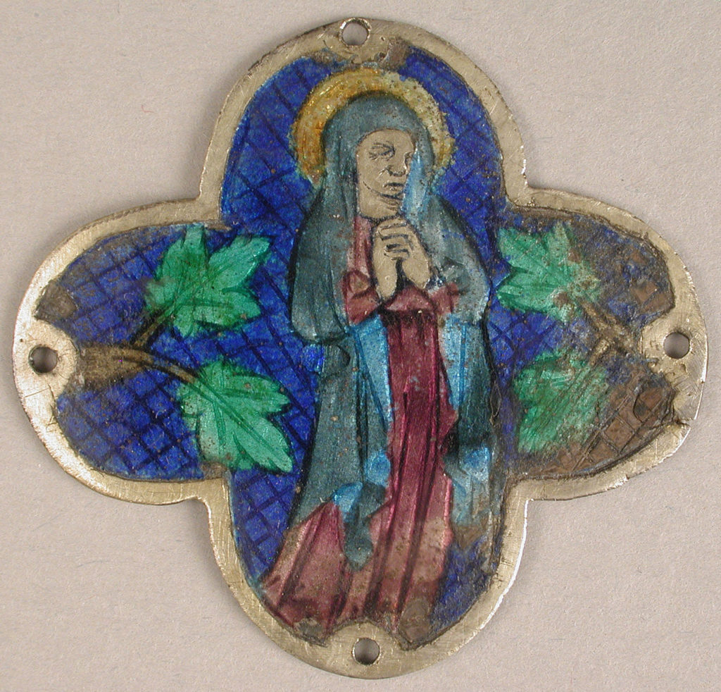 Plaque with the Virgin in Mourning