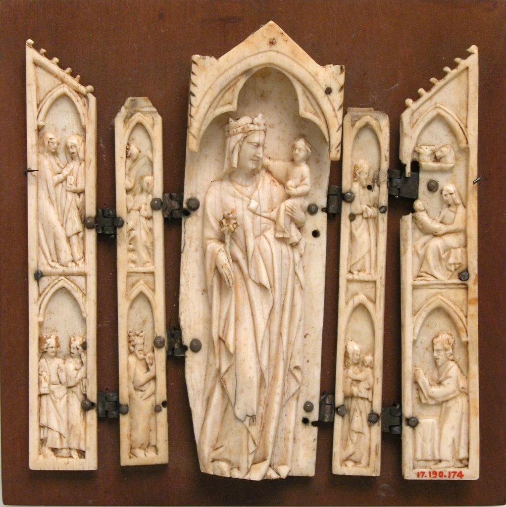 Polyptych, Virgin in Tabernacle