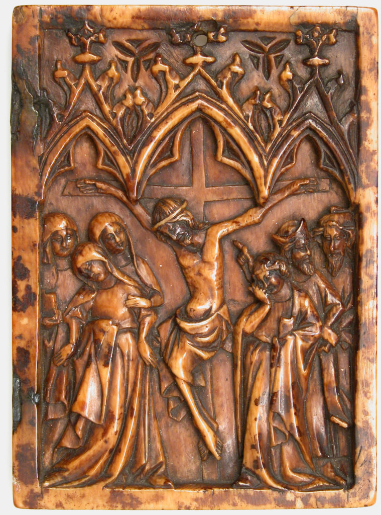 Right Wing of a Diptych with Crucifixion
