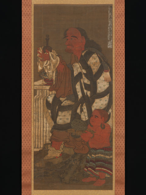 Satsubari, the Second of the Sixteen Arhats