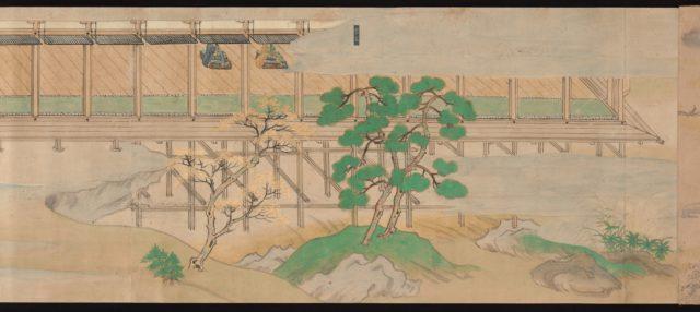 Scene from The Illustrated Legends of Jin'ōji Temple (Jin'ōji engi emaki)