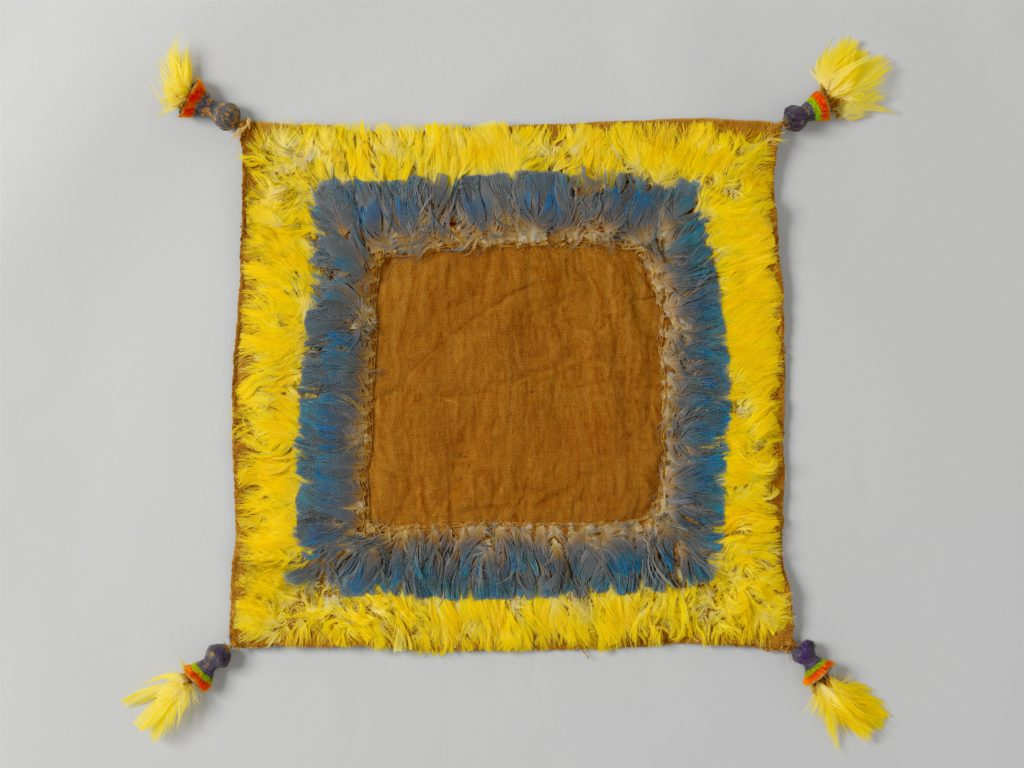 Square Cloth with Feathered Border