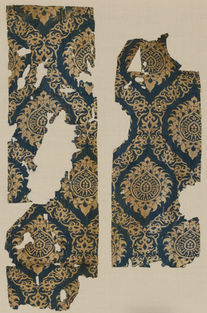 Textile Fragment with Ogival Pattern