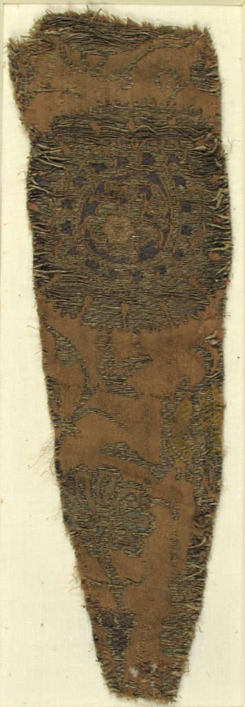Textile with Floral Ornaments