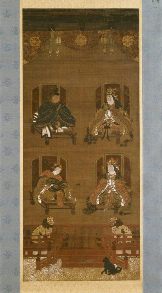 The Four Deities of Kōyasan Temple Complex