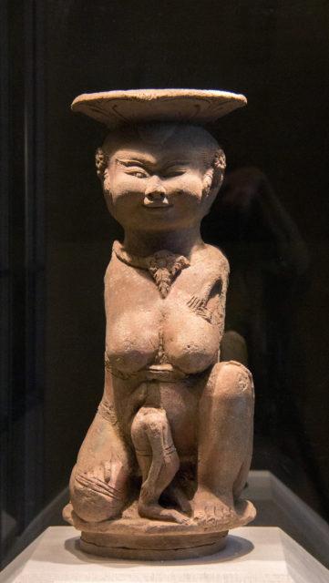The Mother Goddess Men Brajut (Hariti)