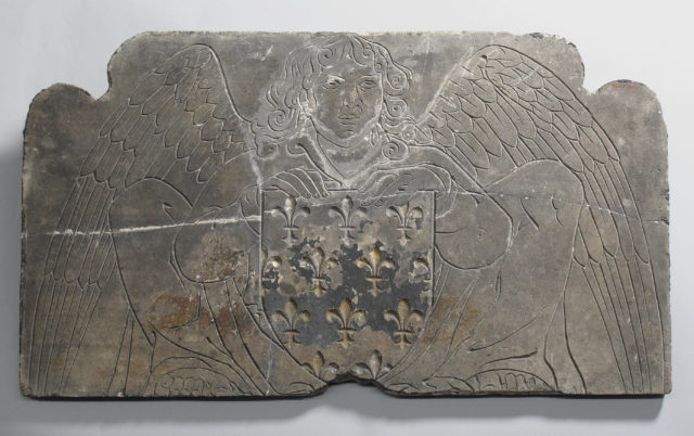 Tomb Slab of Madame Blanche of France, Duchesse d'Orléans