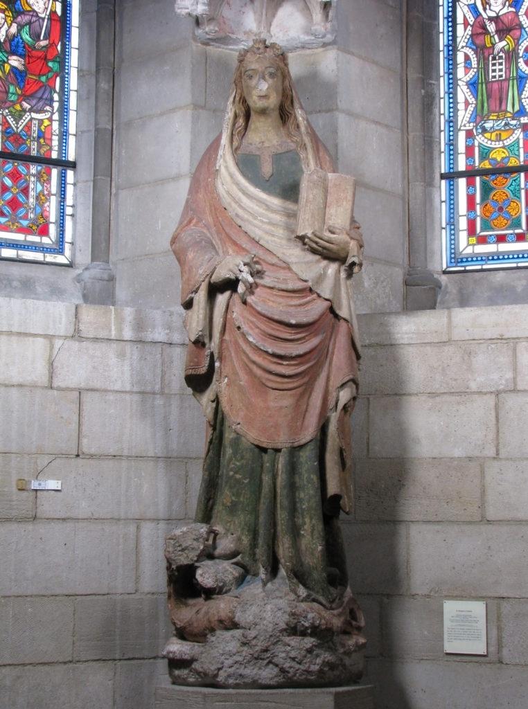 Saint Margaret of Antioch under Canopy