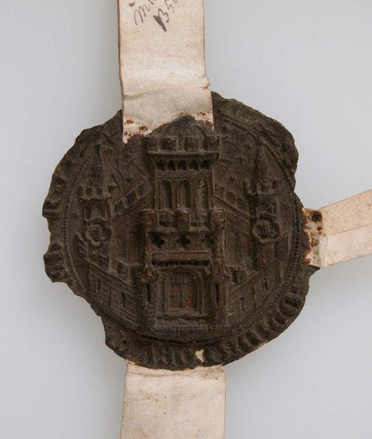 Seal Impression, Municipal Seal of Middelburg