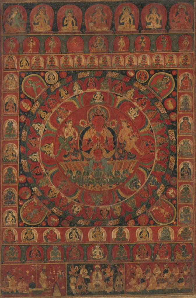 Mandala of the Sun God Surya