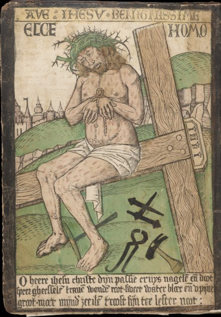Album with Twelve Engravings of The Passion, a Woodcut of Christ as the Man of Sorrows, and a Metalcut of St. Jerome in Penitence