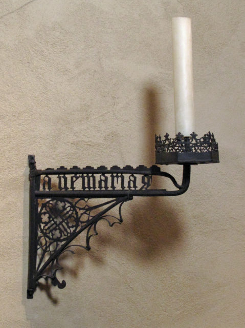 Candle Bracket