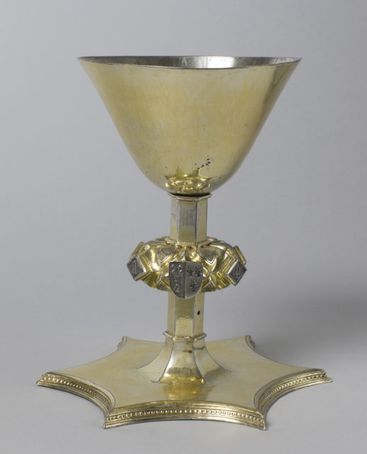 Chalice with the Arms of Housteyn