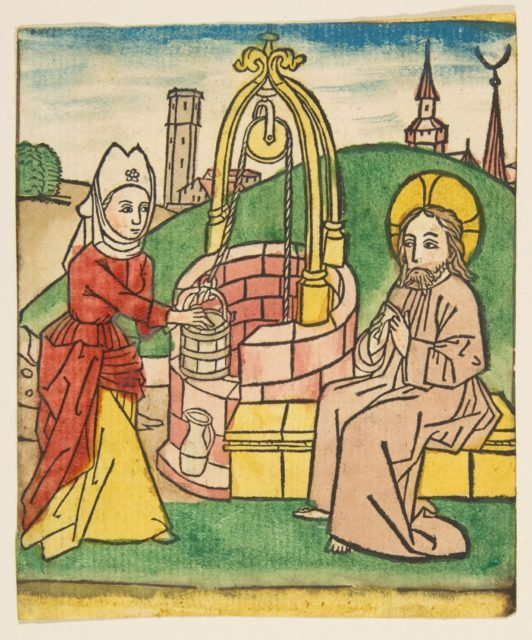 Christ and the Samaritan Woman (Schr. 141c)
