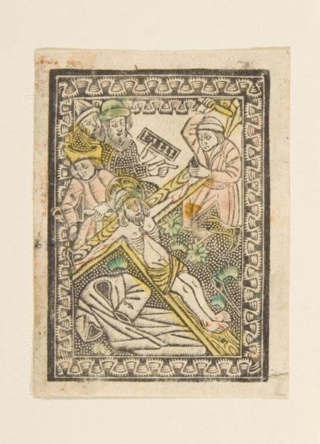 Christ Nailed to the Cross (Schr. 2417x)