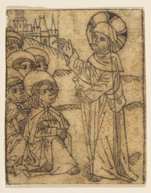 Christ Taking Leave of His Disciples