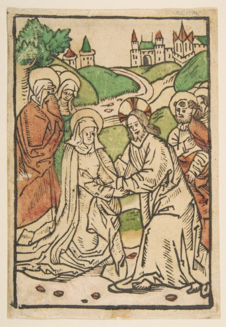 Christ Taking Leave of His Mother (Schr. 639)