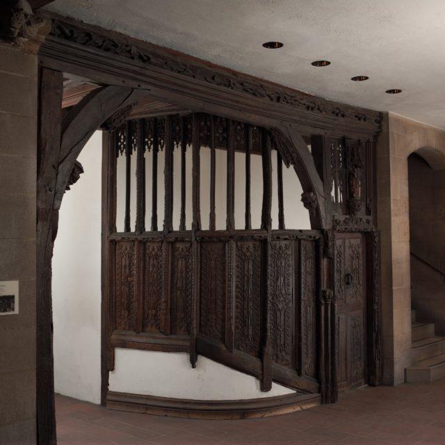Doorway and Staircase Enclosure