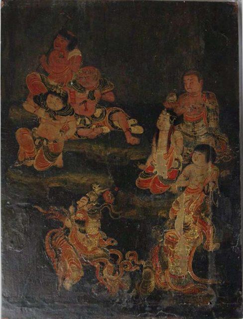 Eight Attendants of Fudō Myōō