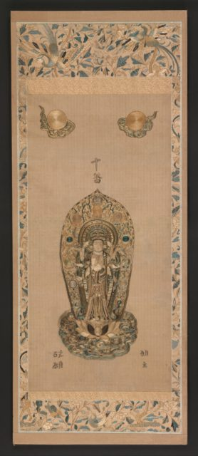 Embroidery of a Thousand-Armed Kannon