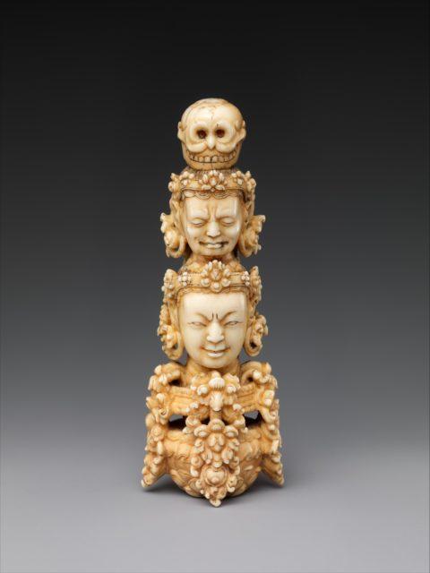 Finial for a Buddhist staff (khatvanga)