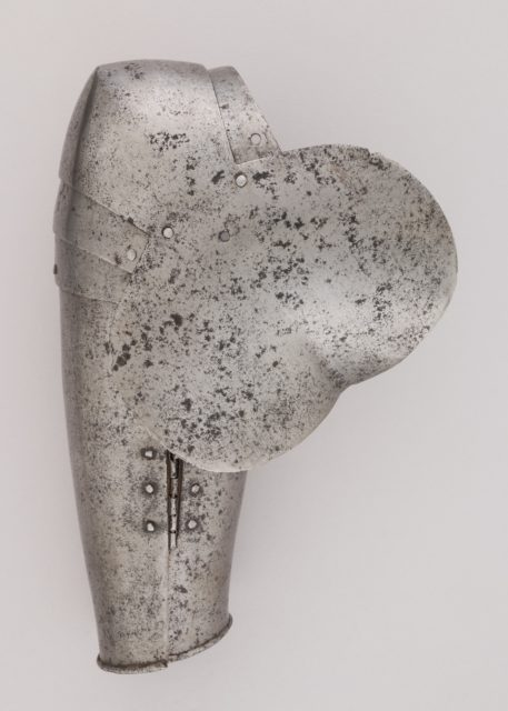 Forearm Defense (Vambrace) and Elbow Defense (Couter)