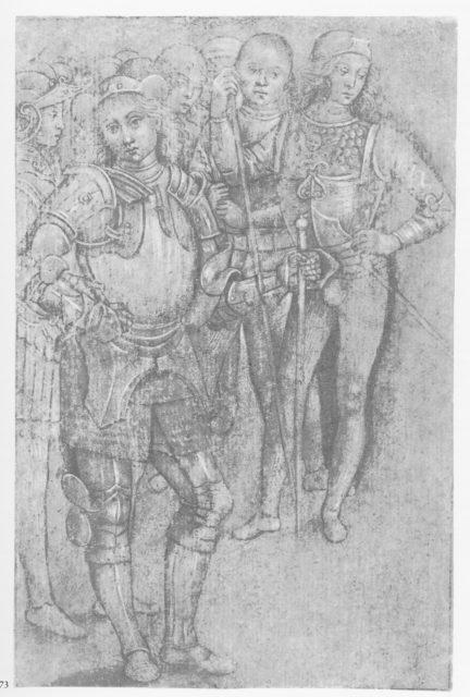 Group of Warriors Standing