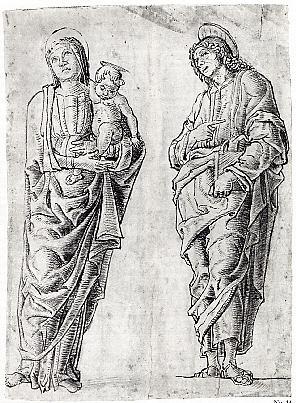Madonna and Child with Saint John the Evangelist