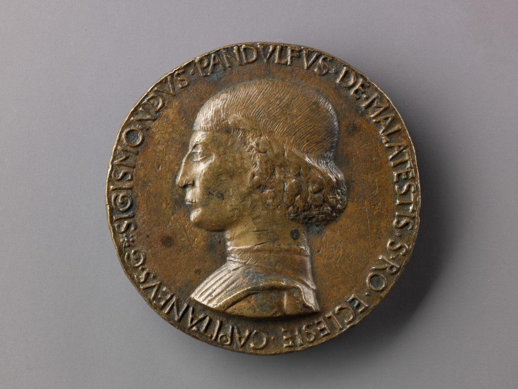 Medal:  Bust of Sigismondo Pandolfo Malatesta