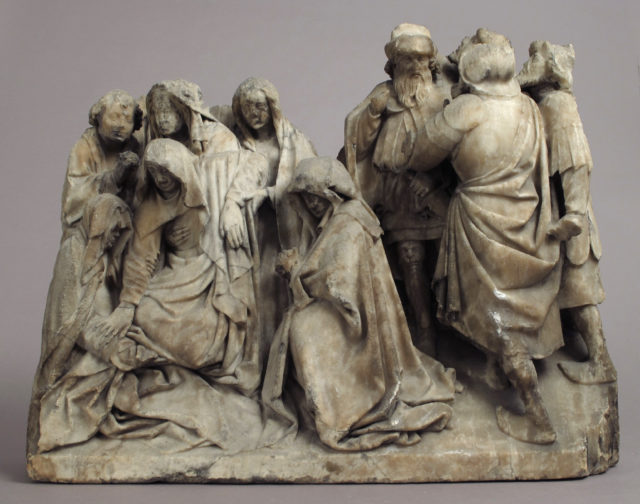 Mourners and Soldiers from a Crucifixion