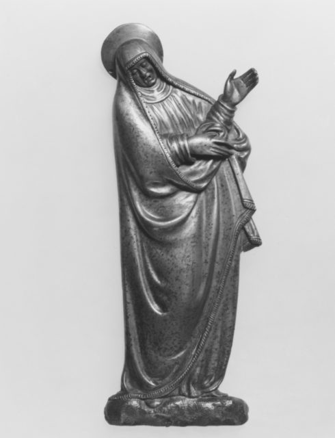 Mourning Virgin from a Crucifixion Group