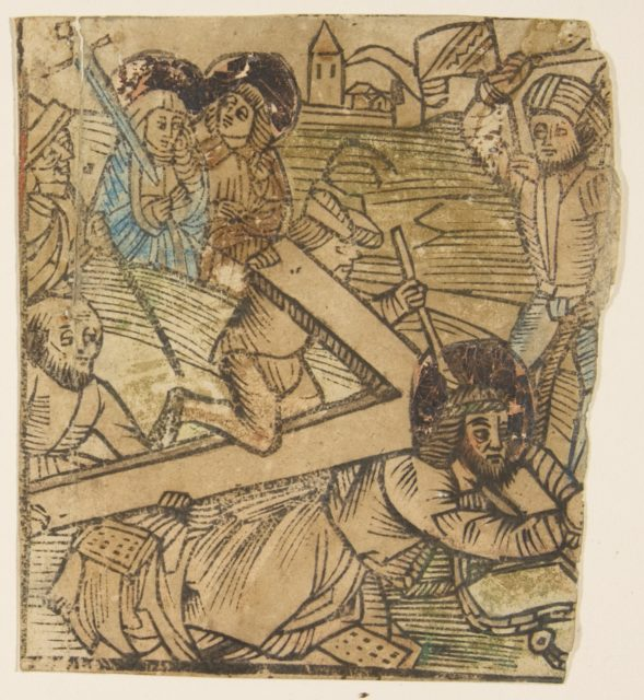 One of the Seven Falls of Christ (Schr. 655)