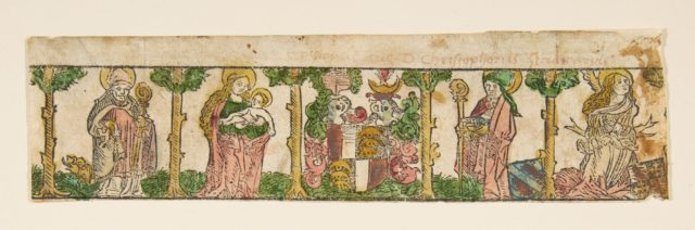 Ornamental Border of the Augsburg Diocese (Schr. 2024c)