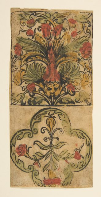 Panel of ornament (Schr. 2006m)