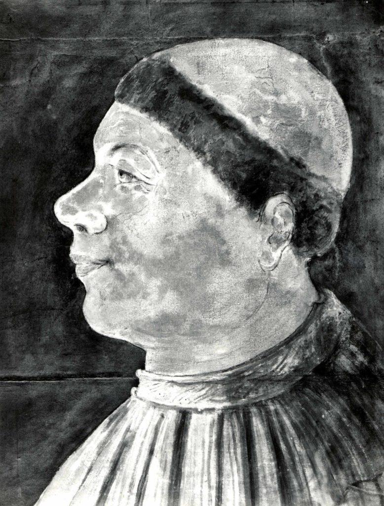 Profile Portrait of Bishop Antonius Campanus of Agram (Zagreb)