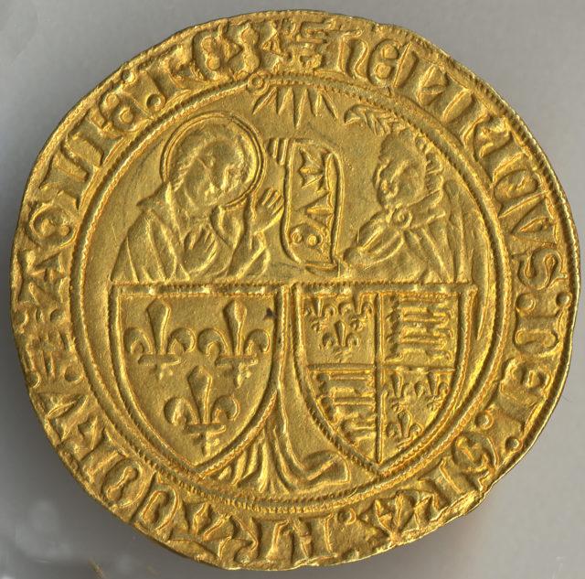 Quarter Noble of Henry VI (1422-61)